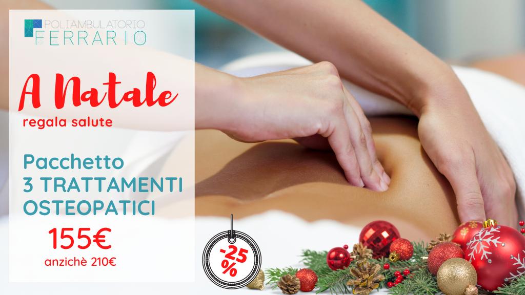 pacchetti regalo idee regalo salute Natale Poliambulatorio Ferrario Sesto San Giovanni
