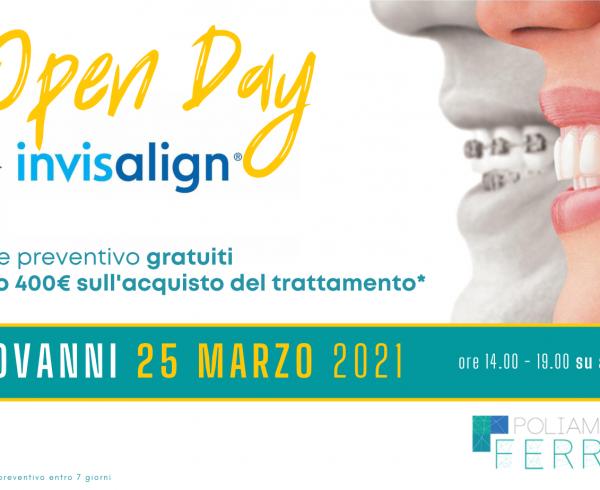 Open Day Invisalign 25 marzo 2021 Sesto San Giovanni