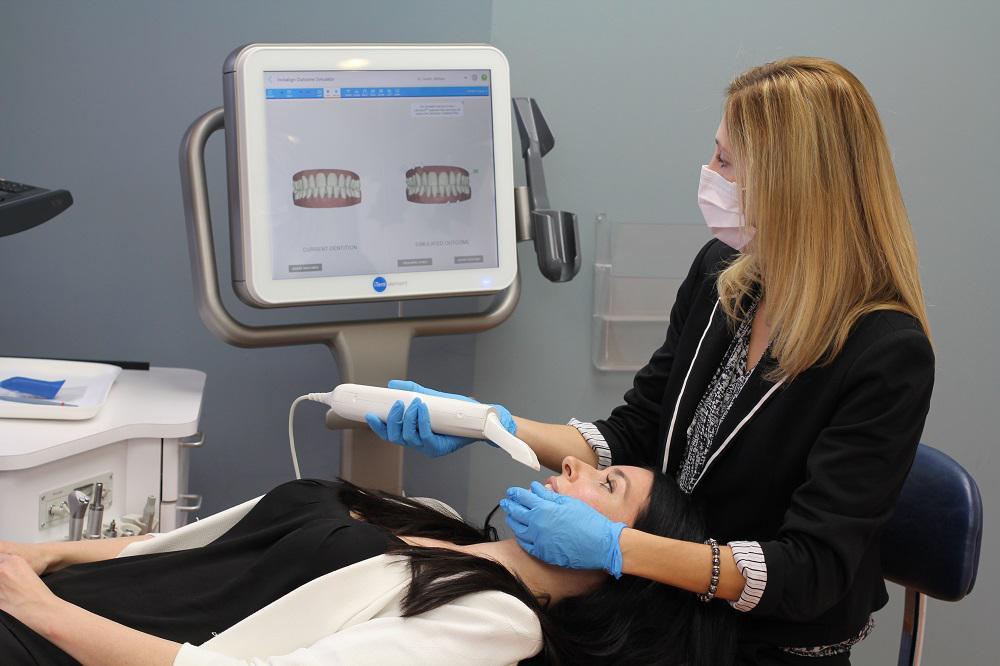 La scansione con scanner intraorale, rapida e totalmente indolore